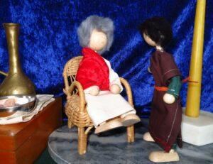 Josef bittet um Jesu Leichnam