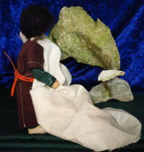 Josef setzt Jesus bei